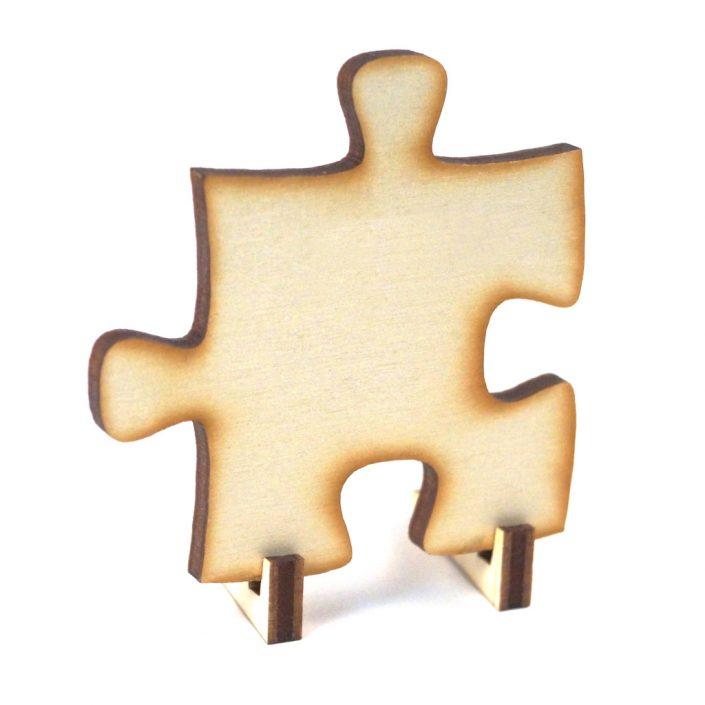 Tischkarte und Hochzeitspuzzle in Kombination
